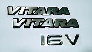Suzuki Vitara Side Emblem Front Door Emblem (2 Pcs)