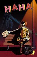 🚨🤡🔥 HAHA #1 MEGAN HUTCHISON 616 Comics Trade Dress Variant Ltd 500 VF+ Copy