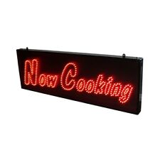 LED Now Cooking Sign 900 x 300 12V