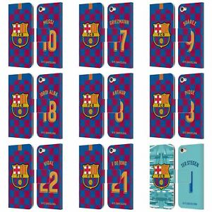 FC BARCELONA 2019/20 PLAYERS HOME KIT GROUP 1 LEATHER BOOK CASE FOR iPOD TOUCH