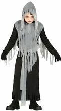 Chicos espíritu maligno Grim Reaper reliquias Halloween Vestido de fantasía Traje de Disfraz Childs
