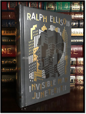 The Invisible Man & Juneteenth by Ralph Ellison New Sealed Leather Bound Gift