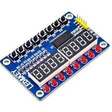 1pcs Key Display For AVR Arduino New 8-Bit Digital LED Tube 8-Bit TM1638 Module