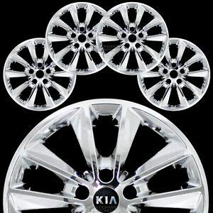 "4 for Kia Sorento L LX 2019-20 Chrome 17"" Wheel Skins Hub Caps Alloy Rim Covers"