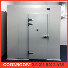 Coolroom Kit DIY Set 2.4x1.8x2.4m 1 1/8hp New Refrigeration Unit ColdRoom