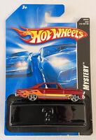 2008 Hotwheels Mystery Car 66 Chevy Nova Red 3/24 Very Rare!