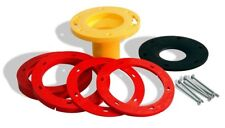 """Oatey Set-Rite Toilet Flange Extension Kit 1/4"""" - 1-5/8"""" Water & Gas Tight Seal"""