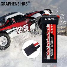 Graphene HRB Lipo Battery 5000mAh 3S 11.1V 100C For Traxxas 1/10 Slash 2WD VXL