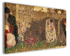 Quadro moderno Gustav Klimt vol XVII stampa su tela canvas pittori famosi