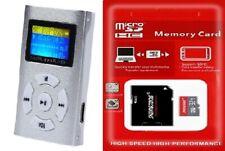 32GB Mini Mp3 Player mit LCD Display plus 32GB TF Karte Speicherkarte Micro SD