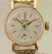Rolex Tudor Royal Ladies 9K Solid Gold Vintage Watch, 1955, Serviced