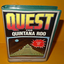 VINTAGE ATARI 2600 QUEST FOR QUINTANA ROO VIDEO GAME CARTRIDGE BOXED PAL VERSION
