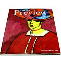 SOTHEBY'S PREVIEW Jan-Feb 2008 Auction Magazine IMPRESSIONIST&MODERN ART Fontana