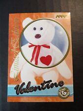Ty Beanie Babies Series III S3 Limited Edition BBOC Valentino Tear A Bear Card