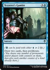 TEZZERET'S GAMBIT Commander 2016 MTG Blue Sorcery Unc