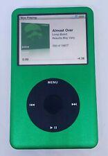 REFURBISHED Apple iPod classic 7th Gen Green /Black (160 GB) !