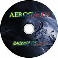 AEROSMITH GUITAR BACKING TRACKS CD BEST OF GREATEST HITS MUSIC PLAY ALONG ROCK