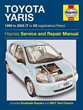 Toyota Yaris Owners Workshop Manual by Haynes 1999-2005 T to 05 Reg NEW SEALED