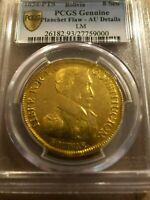 1834 Bolivia 8 Ocho Escudos Scudos gold Potosi Simon Bolivar bust republic
