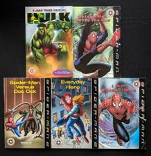 Lot Of 5 Spider-man Early Festival Readers - Hulk Doc Ock Saves The Day Hero