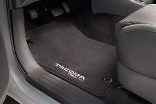 Toyota Tacoma 2012 - 2015 Double Cab Black TRD PRO Carpet Floor Mats - OEM NEW!