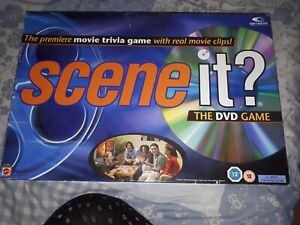 SCENE IT THE DVD GAME MOVIE TRIVIA COMPLETE NICE CONDITION MATTEL 2004