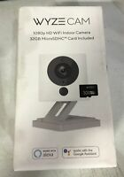 Wyze Cam 1080p HD Wireless Smart Home Camera with Night Vision w/Micro SD Card