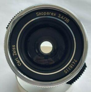 Carl Zeiss Skoparex 35mm f/3.4 für Icarex