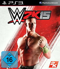 WWE 2K15 (Sony PlayStation 3, 2014, DVD-Box)