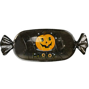 Halloween Candy Plates Cookies Biscuits Treats Holder Party Tableware Decor UK