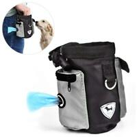Pet Dog Cat Training Waist Pouch Bait Treat Snack Food Bag Storage Holder Pocket