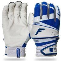 NEW Original MENs Franklin Freeflex PRO Baseball BATTING Gloves White Royal