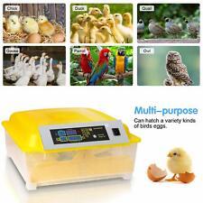 New listing 48 Egg Incubator Incubator Breeder for Hatching Duck Goose Quail Birds Turkey