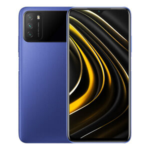 "Poco M3 4GB 64GB Handy Cool Blue 6,53"" 6000mAh 48MP Smartphone Global Version"