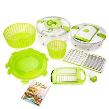 Genius  Salat Chef  12-teilig, kiwi Neu TV Konfiguration