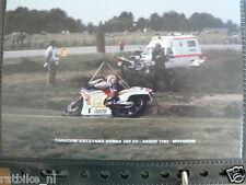 S0840-PHOTO-TAKAZUMI KATAYAMA HONDA 500 CC ASSEN 1982 NO 15 CASTROL MOTO GP