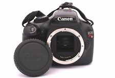 Canon EOS Rebel T3/1100D 12.2mp fotocamera - Nero (Solo Corpo) CONTA SCATTI: