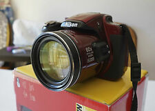 Nikon COOLPIX P600 16.0MP Digital Camera - Red 60x OPTICAL ZOOM