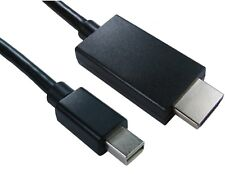2m Mini Displayport DP to HDMI vIDEO Cable Mac PC HDTV