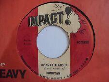 """New ListingDonovan My Cherie Amour Impact Killer! Stevie Wonder + Boss Reggae 7"""" Hear"""
