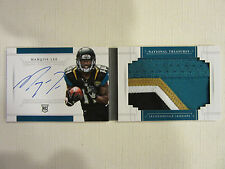 2014 National Treasures Jumbo Rookie Auto Booklet 4 Color Marqise Lee 17/99