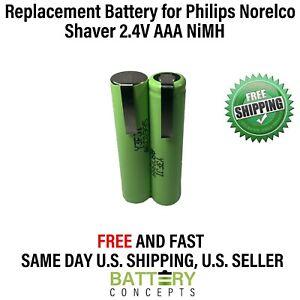 2.4V AAA NiMh 800 mAh Battery Pack for Cordless shavers, razor, toothbrush etc