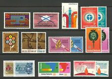 Un-New York #226-243, 1972-1973 Annual Sets, Unused Nh