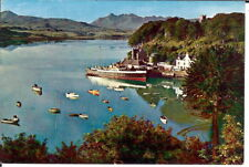 Isle of Skye: Portree Harbour and Cuillin Hills - Posted 1968