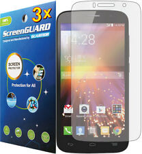 3x Clear LCD Screen Protector Guarnd Film Cover Alcatel One Touch Pop Icon A564C