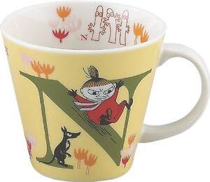 YamaKa store Moomin initial mug N MM630-11N from Japan New