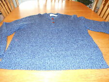 Great Plains Clothing Company Wool Blend 2 Button Sweater Men's  sz L