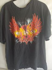 W. A S.P. concert t-shirt tour The Crimson Idol 15th Anniversary 2007-2008