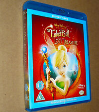 Tinker Bell and The Lost Treasure Combi Pack (Blu-ray + DVD)