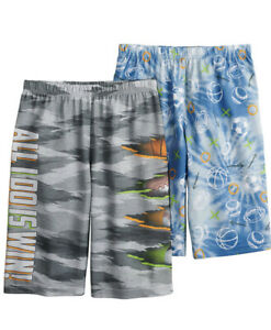 Boy's  UP-LATE SPORTS 2-Pack All Day Sleep Shorts Size Small (4/5) NWT